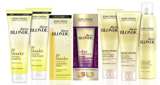 Sheer Blonde John Frieda recensioni .1