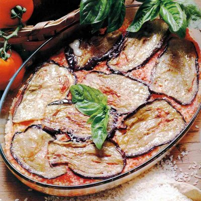 Parmigiana di melanzane al forno