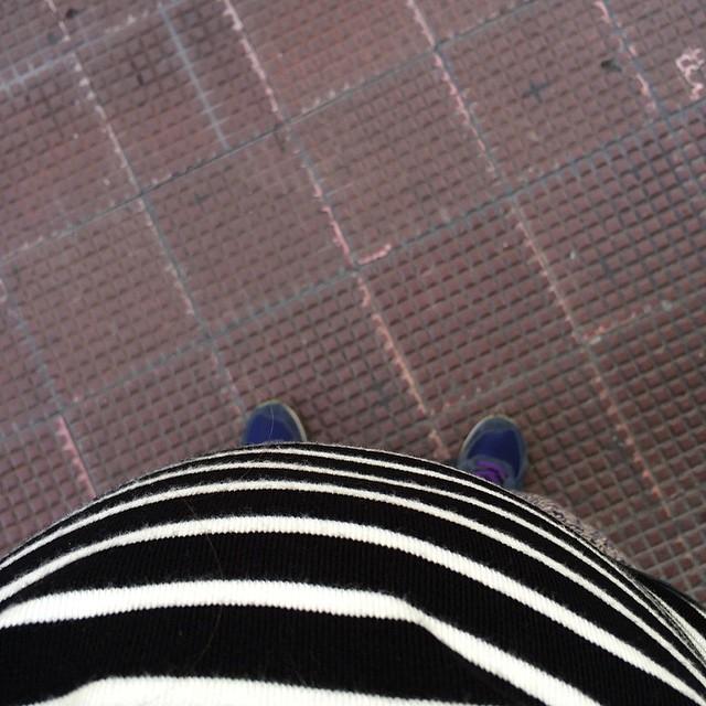 Situazione pancia alla quasi 22ima settimana #pregnant #mumtobe #pancia #babyabordo