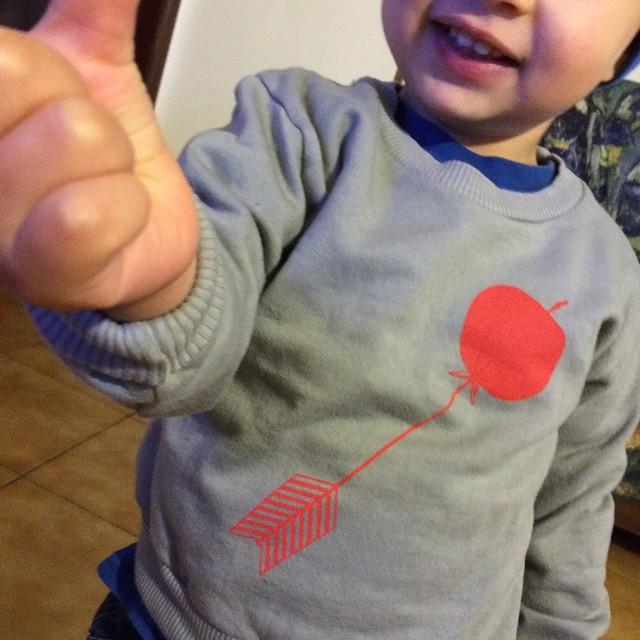Oggi s blog #tenditrendy.com il mio baby modello e lo #shopping su @shopmirtilla #mirtilla #baby #felpa