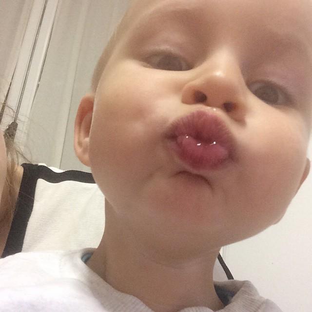 Un bacio a tutti #love #instamamme #mylife #kids