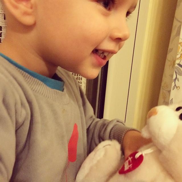Il sorriso più bello che c'è #mylife #love #baby #kids #trudi