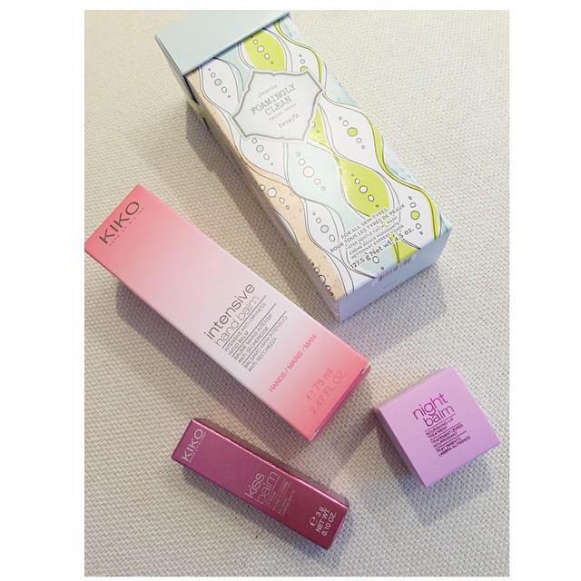 Il mio bottino di oggi #make-Up #beauty #love #style @Benefit @kiko #benefit #kiko #clesn