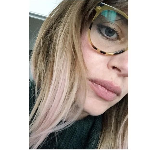 Adoro il mio riflesso #rosa #instamatic @wella #love #hair #pinoesalvoparrucchieri #bloggerday