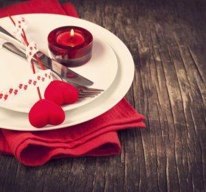 idee tavola san valentino