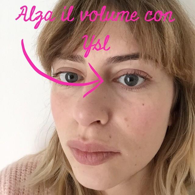 Trova le differenze. Alza il volume con #Ysl @yslbeauty #beauty #makeup #love #mascara #fauxcils