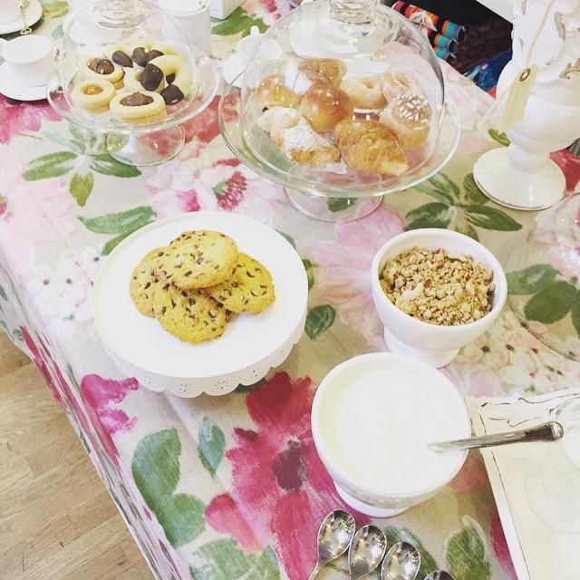 La colazione è servita #bloggerday #officinamaison @officinamaison