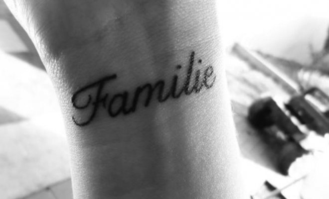 Tattoo dedicati ai figli