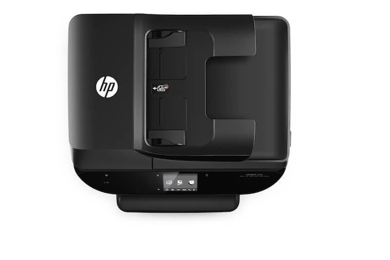 HP Envy 7640, Aerial/Top, no output