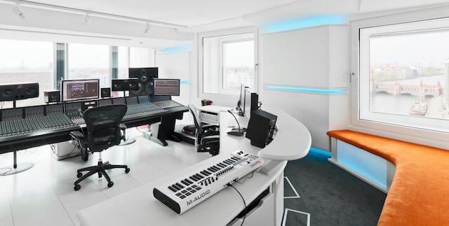 Hotel nHow_Berlino_Studio di registrazione
