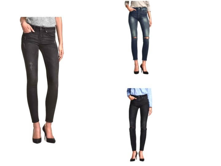 Jeans strappi H&M