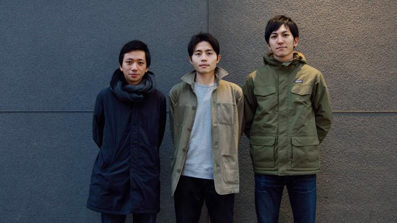 I tre giovani designers del gruppo AMAM
