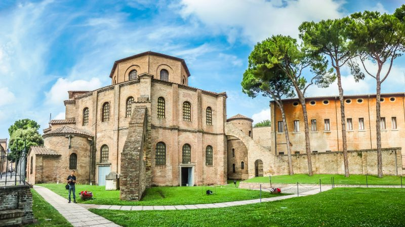 La famosa Basilica di San Vitale a Ravenna