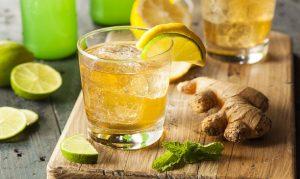 bevanda detox con zenzero e limone