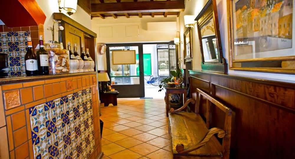 corridoio in stile fiorentino