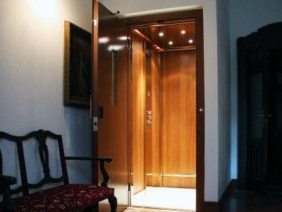 ascensore casalingo