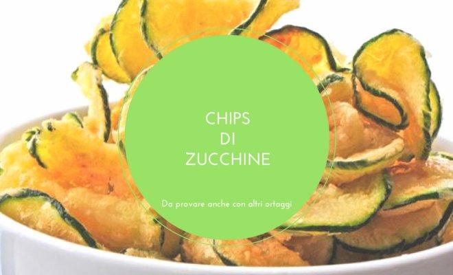 zucchine chips