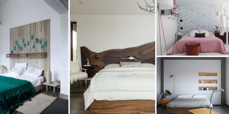 testiera letto camere piccole