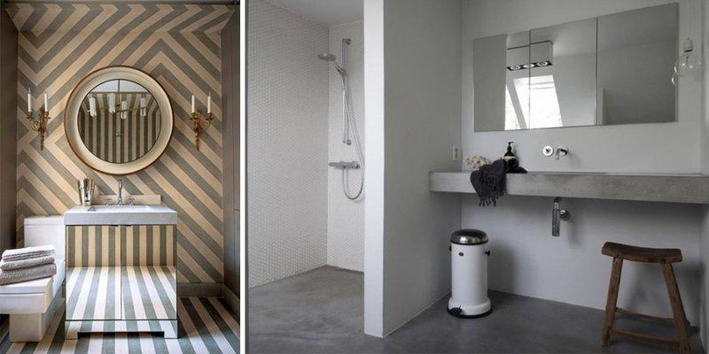 stanza da bagno-arredare il bagno-Rivestimenti-alternativi
