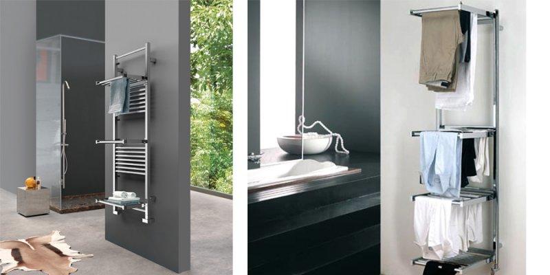 stanza da bagno-arredare il bagno-Scaldasalviette-stendibianche