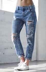 come strappare i jeans