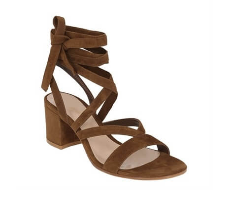 scarpe con tacco largo