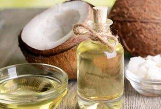 olio di cocco puro