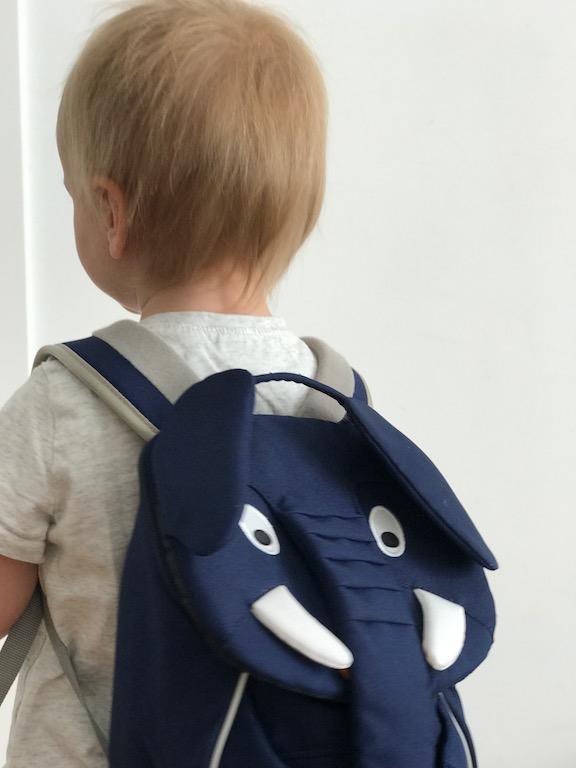 più amato 6197c c8e53 Zaini asilo per bambini: io ho scelto Affenzahn backpack ...