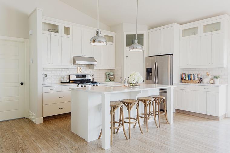 Cucina Legno Bianco – Idea d\'immagine di decorazione