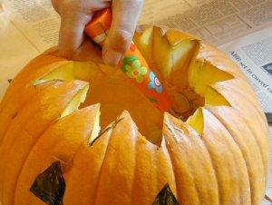 zucca di halloween fai da te