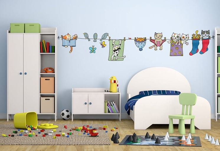 Preferenza Decorazioni cameretta per bambini home made | TendiTrendy WG67