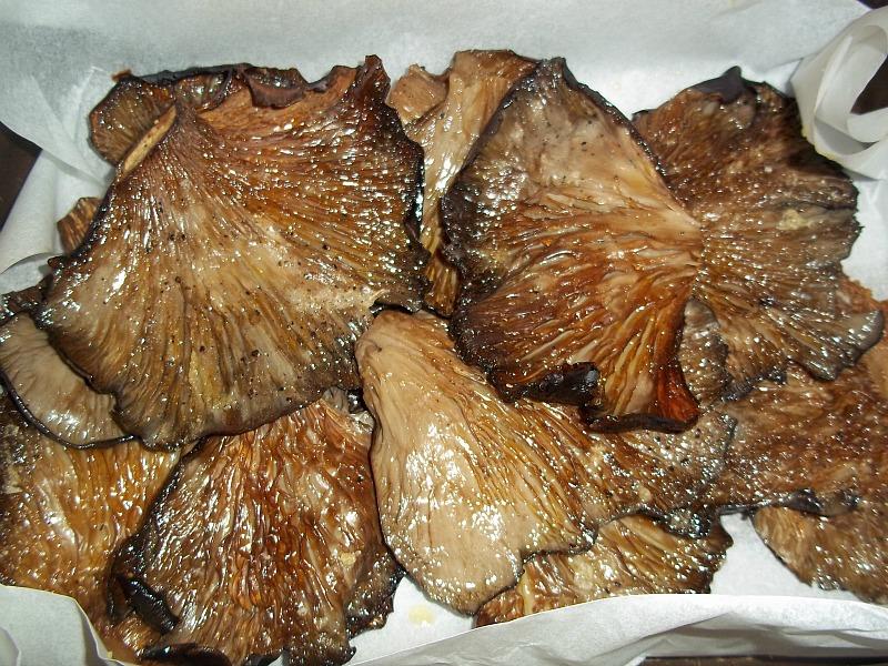 funghi al forno