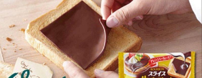 sottilette di Nutella