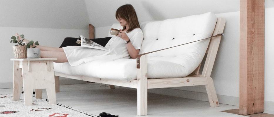 Karup divano letto elegante e funzionale tenditrendy - Divano letto elegante ...